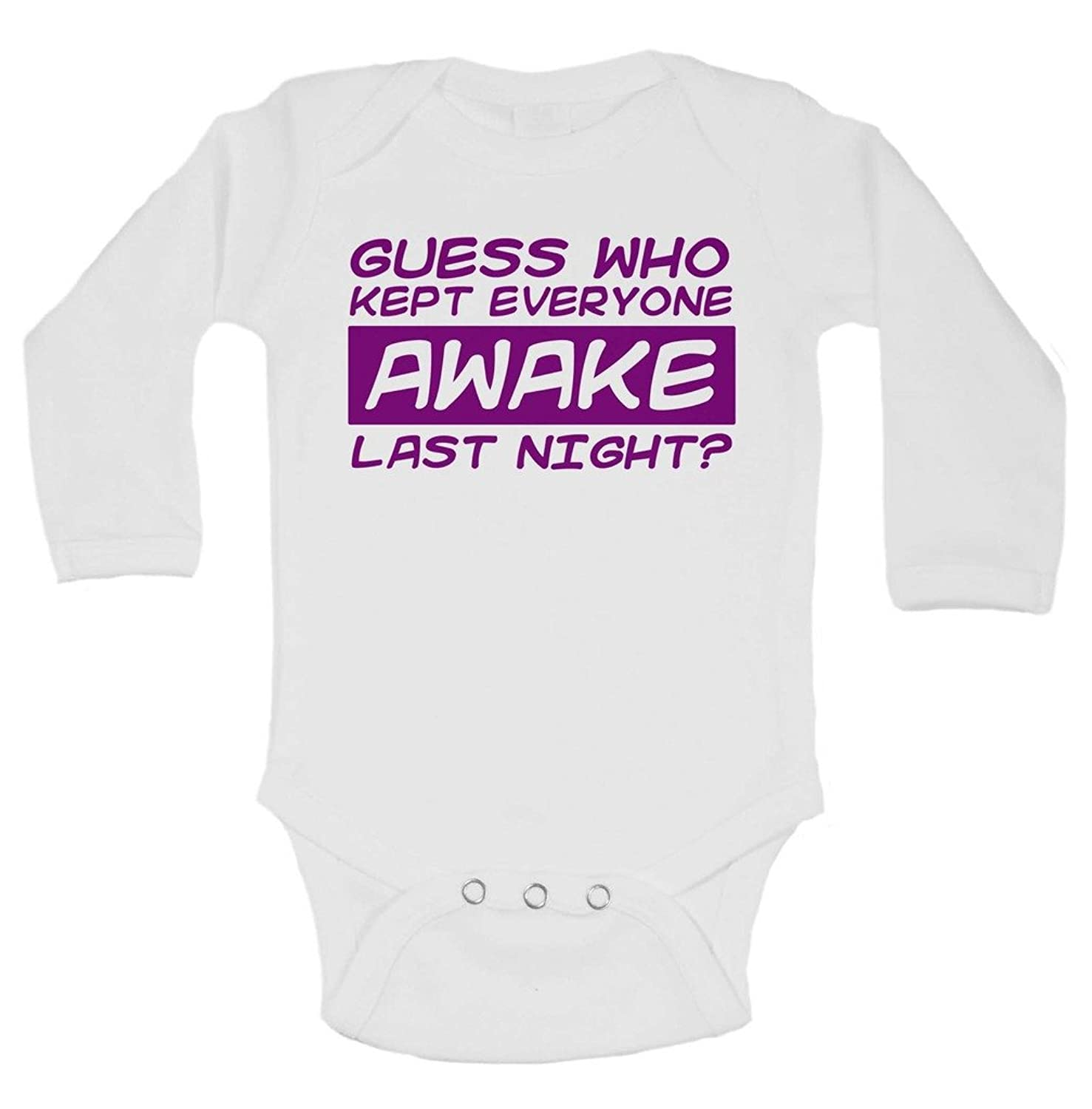 Amazon Funny Newborn Guess Who Kept Everyone Awake Last Night