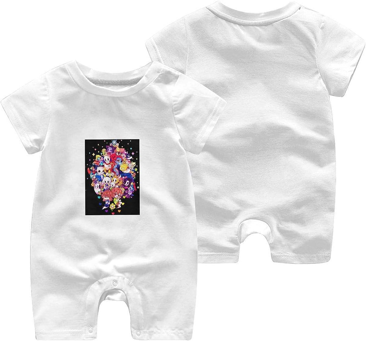 Undertale Sans Newborn Cotton Long Sleeve Onesies for Baby Boys /& Girls