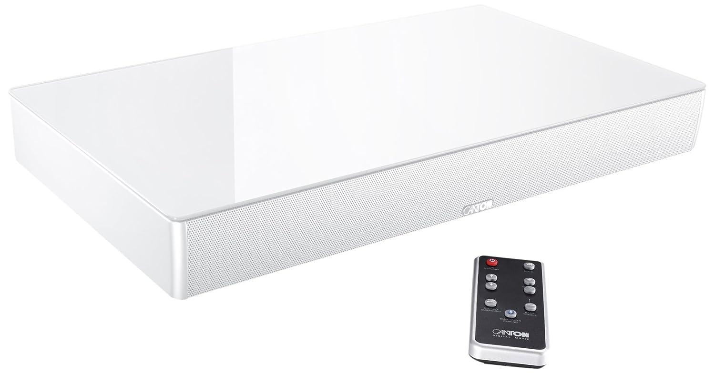 Cantón DM55 2.1 Sistema de Sonido Envolvente Virtual - Cristal Blanco