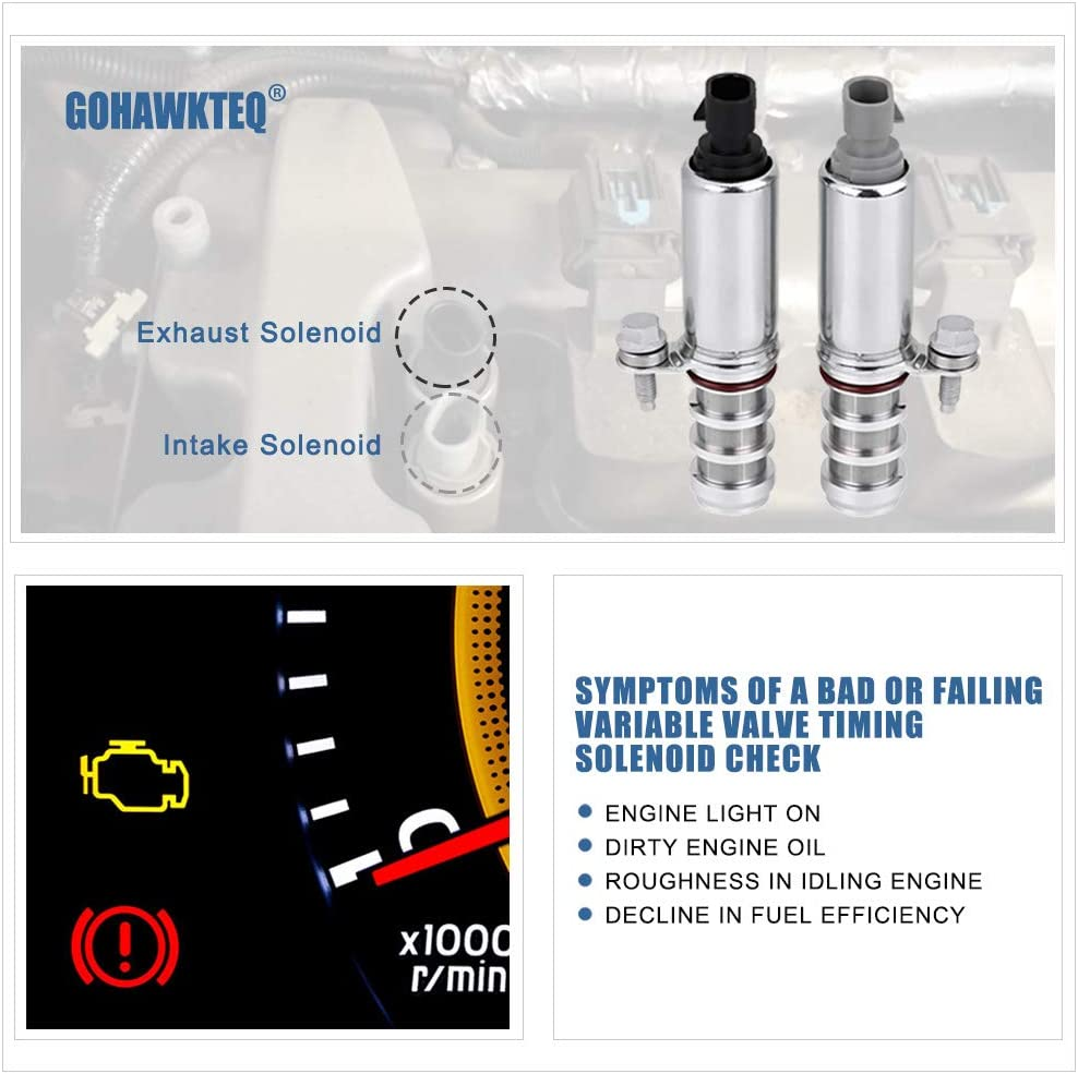 od Dorman Exhaust Variable Timing Solenoid for Chevy Malibu 2008-2014 2.4L L4