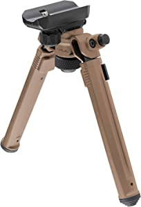 Magpul Rifle Bipod, Sling Stud QD, Flat Dark Earth, One Size
