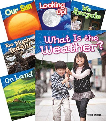 Let's Explore Earth & Space Science Grades K-1, 10-Book Set (Science Readers)