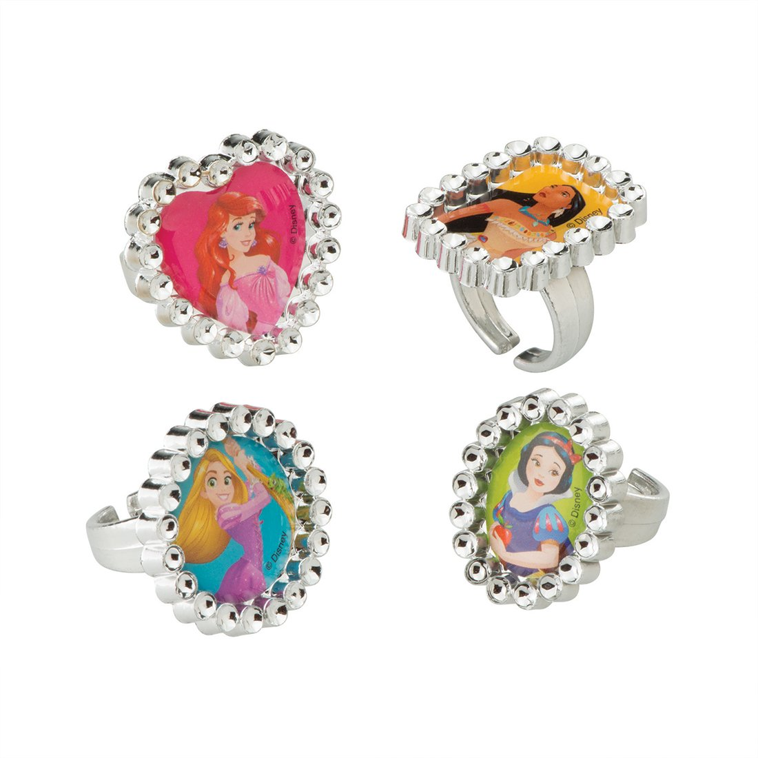 SmileMakers Disney Princess Jewel Rings - Prizes 144 per Pack by SmileMakers