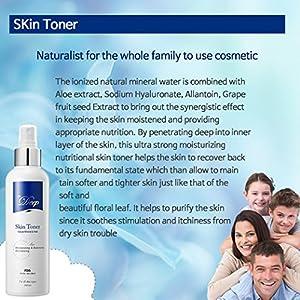 Dr.Deep Skin Toner with Natural Mineral Deep Moisturizing, Hydrating Toner