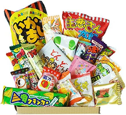 Caja feliz de Dagashi 20pcs ver.2 caramelo japonés Umaibo de la ...