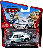 Disney Pixar CARS 2 Movie 1:55 Die Cast Car Erik Lanely # 39 (WGP Race Starter)