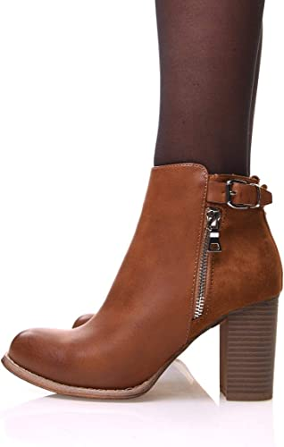 bottines femme talons 8 cm