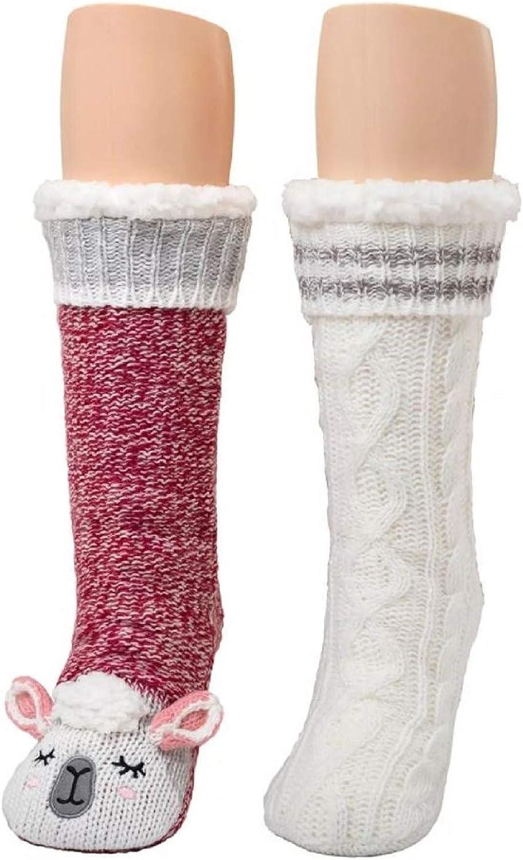 Warm Essentials Cuddl Duds Womens PlushFill Soft Crew Socks Size 4-10 Blue Twist