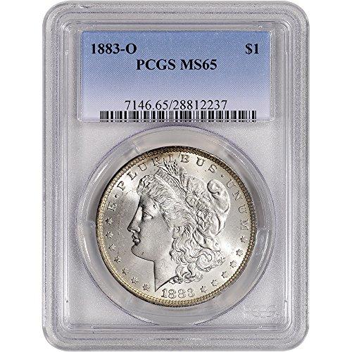 1883 O US Morgan Silver Dollar $1 MS65 PCGS