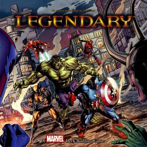 UPC 533348036634, MARVEL LEGENDARY DECK BUILDING