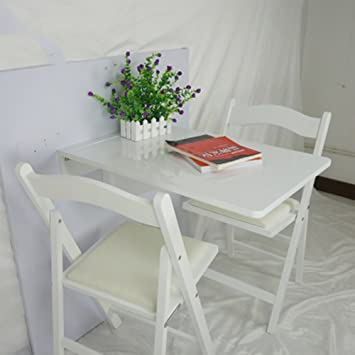 Table En Massif Zxqz Bois Pliante À Murale Manger N8n0mOwv