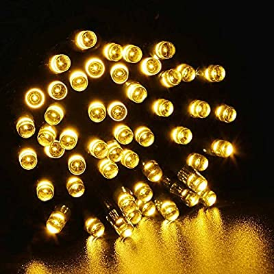 Solar String Lights, OFTEN® 8 Modes Solar Fairy Waterproof String Lights for Outdoor, Gardens, Homes, Wedding, Christmas Party