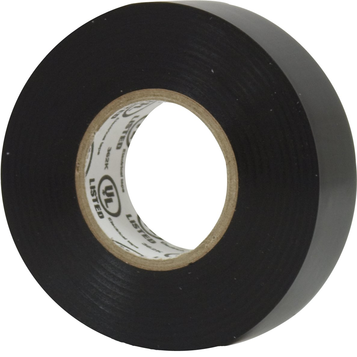 Power Gear Premium Vinyl Electrical Tape, ¾ In Wide, 66 Ft Long, Indoor/Outdoor Cable and Wire Tape, Weatherproof, Flame Retardant, Single Roll, UL Listed, Black, 18164