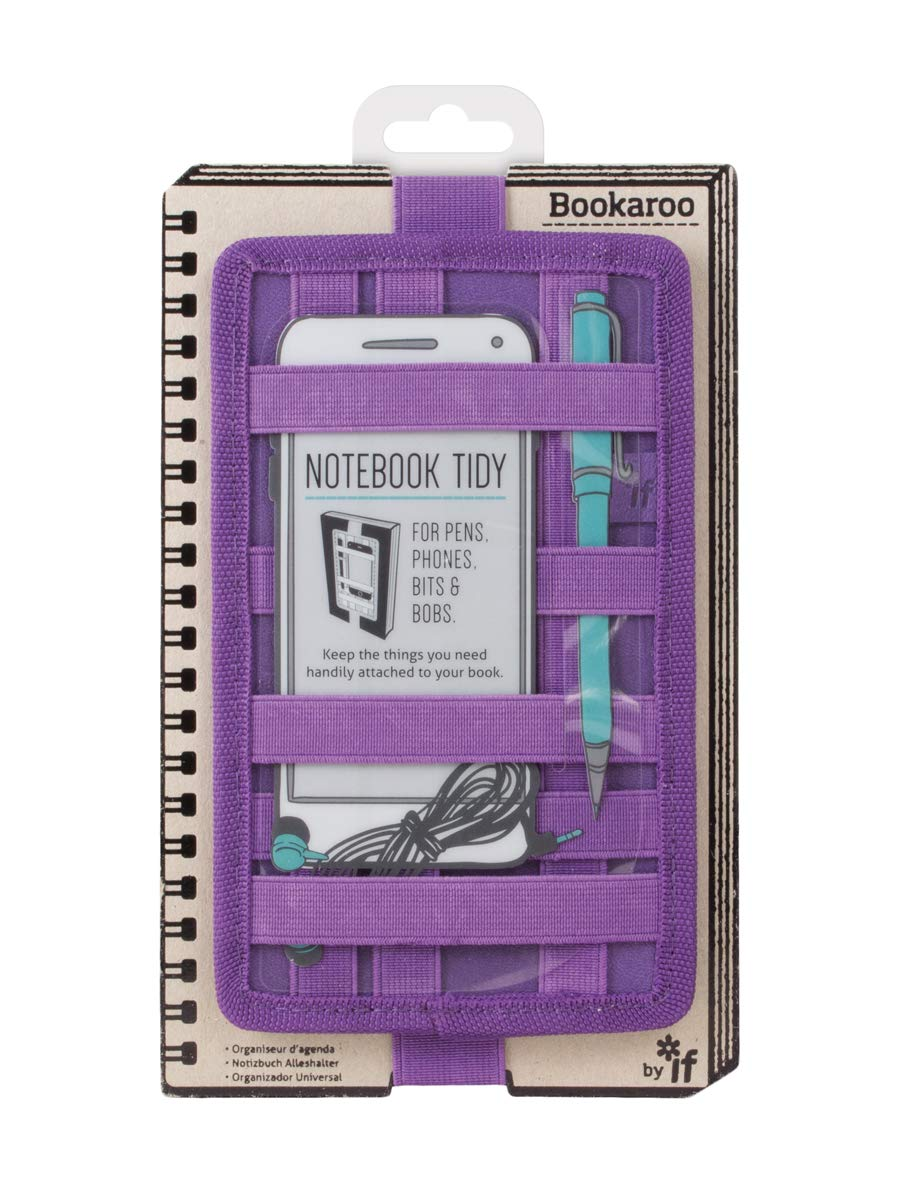 IF- Bookaroo Notebook Tidy for Books- Purple by IF