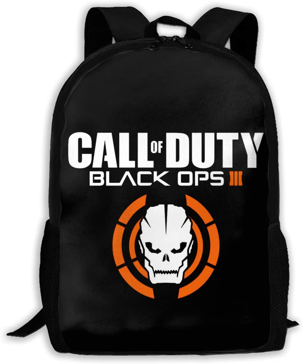 Fashion Kids Schoolbags Call Black Ops Duty Backpack For School Girls Boys Daypacks Rucksack Zipper