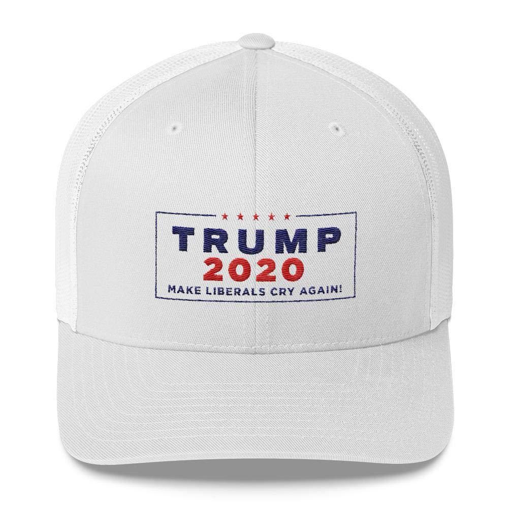 3a92fad85 Amazon.com : Donald Trump 2020 Make Liberals Cry Again Trucker Cap ...