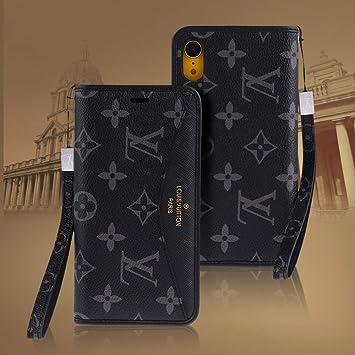 be25170023 Amazon | iPhone XR/iPhone XSMAXケース 手帳型 高級PUレザー スタンド ...