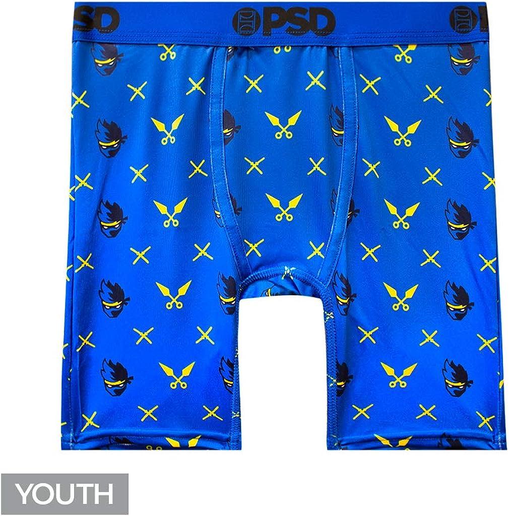 PSD Underwear NBA Unisex-Child Youth Boxer Briefs
