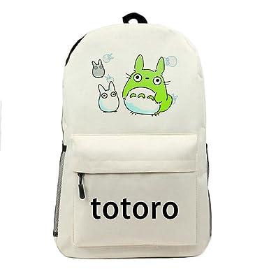 502d312b50 YOURNELO Boy s Girl s Cartoon Totoro Canvas School Backpack Bookbag ...