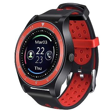HAJZF Bluetooth Smart Watch R10 Apoyo Tarjeta SIM cámara de ...