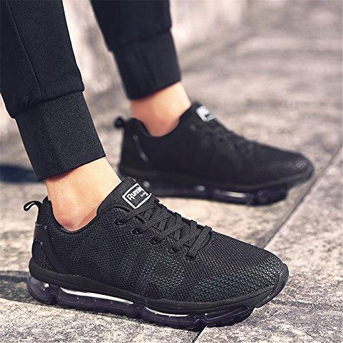 TORISKY Walking Running Sport Men's Air Women's Cushion Outdoor Shoes Lightweight Black Sneakers rCrqa