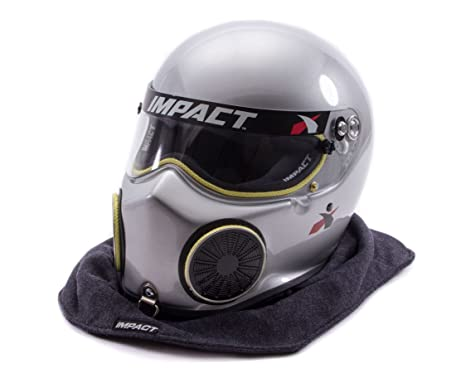 Amazon.com: Impacto 18099608 Plata X-Large Nitro Casco ...