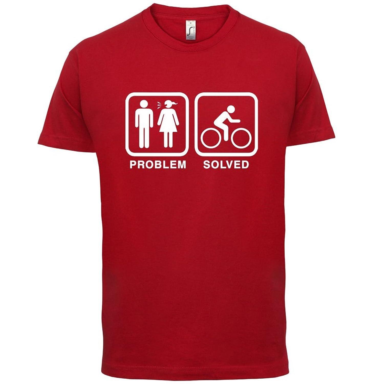 Problem gelöst - Rad fahren - Herren T-Shirt - 13 Farben: Amazon.de:  Bekleidung