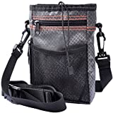 MyfatBOSS Dog Treats Pouch, Portable Dog Treat Training Pouch, Adjustable Waist Belt 3 Ways to Wear Travel Dog Treat Pouch, Easily Carries Pet Toys, Training Accessories