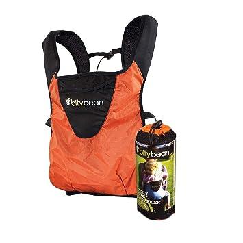 f82d6387bdd Amazon.com   Bitybean UltraCompact Baby Carrier - Orange with Hood! (Carrot  Orange)   Baby