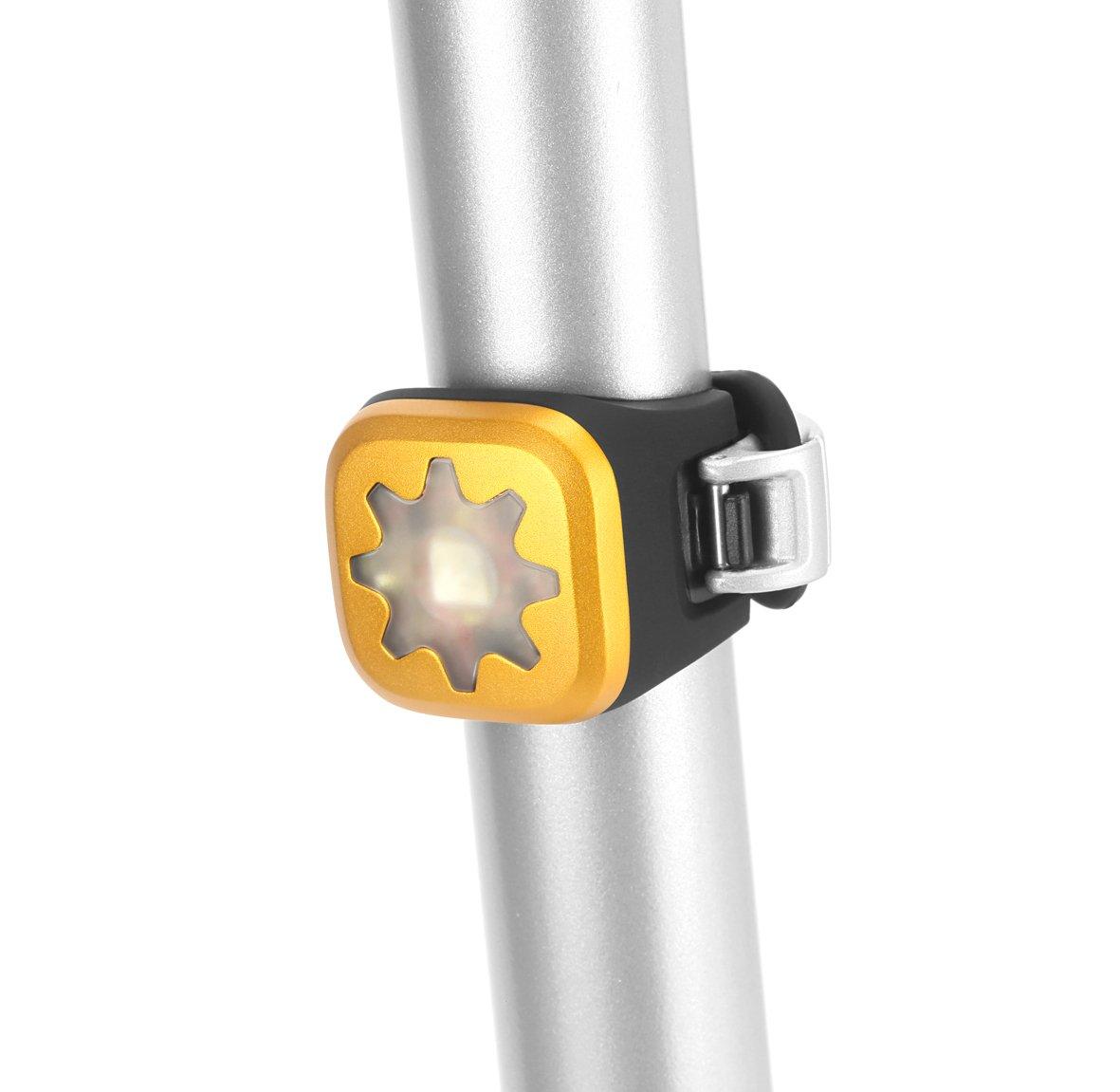 Knog Lampe Blinder 1 rote LED Licht, Cog
