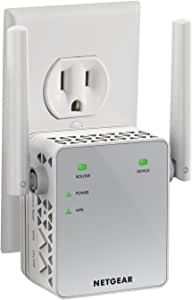 NETGEAR WiFi Range Extender EX3700 - Coverage up to 1000 sq.ft. and 15 Devices with AC750 Dual Band Wireless Signal Booster & Repeater (up to 750Mbps Speed), and Compact Wall Plug Design