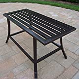 Oakland Living Rochester Coffee Table, 36 by 16-Inch