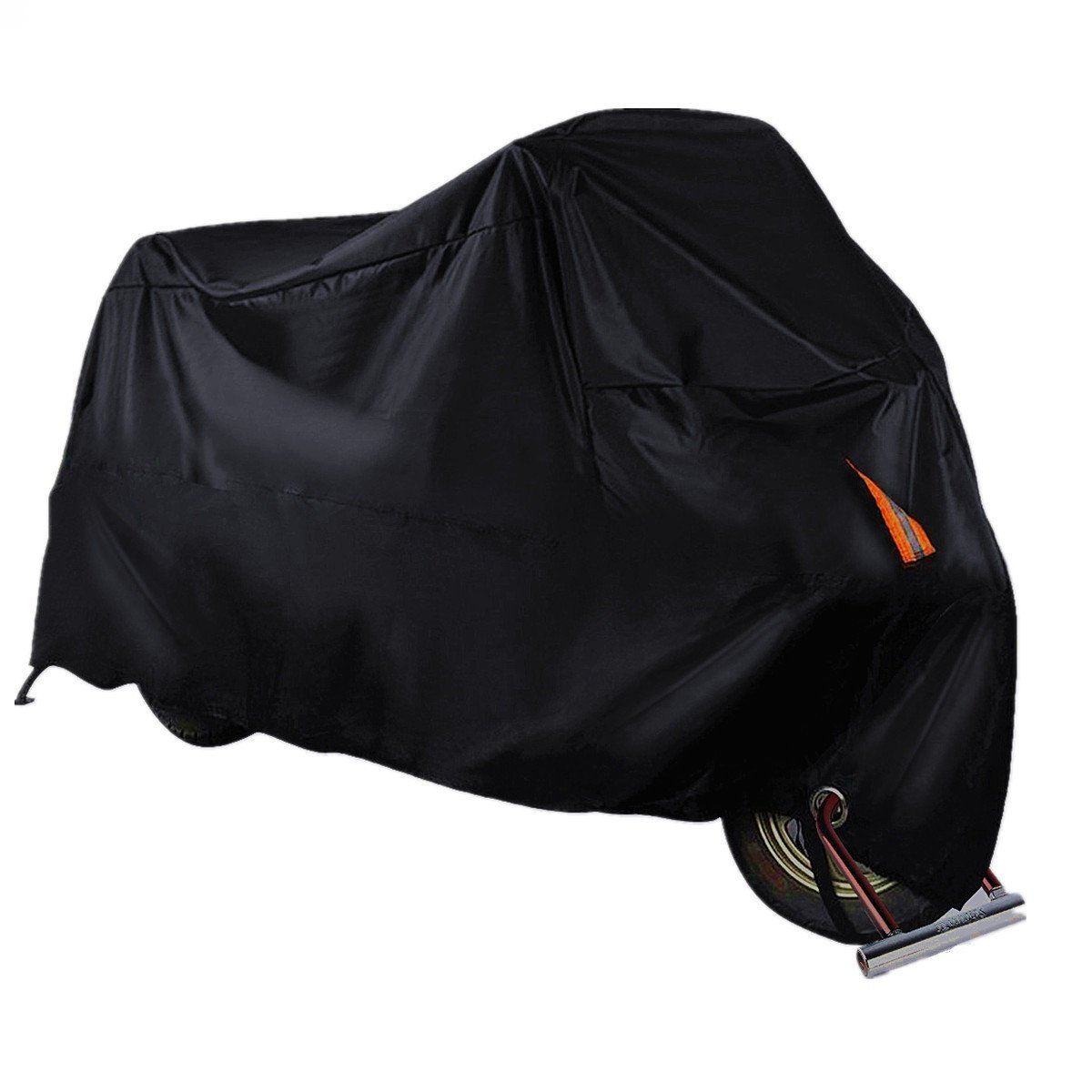 AUDEW Motorcycle Cover All Season Bike Cover Waterproof Outdoor/Indoor Protection Motorbike Cover with Lockholes Fits up to 104'' Motorcycles (XXXL)