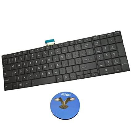 Amazon.com: HQRP Laptop Keyboard for Toshiba Satellite L855D-S5114