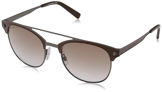 DSQUARED2 Sonnenbrille DQ0246 12F 53 Gafas de sol, Plateado ...