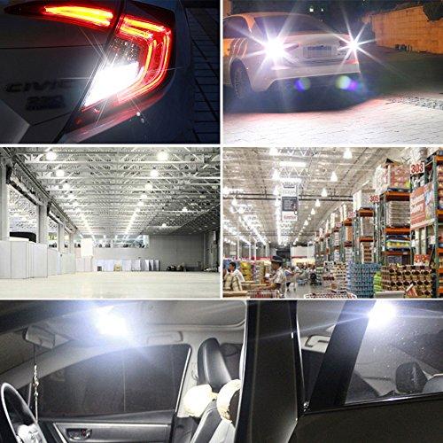 20 Packs Debonauto 1156 Bulb Super Bright 1141 1003 BA15S 7506 LED Light Bulb for RV Indoor Lights 12V 6000K Xenon White