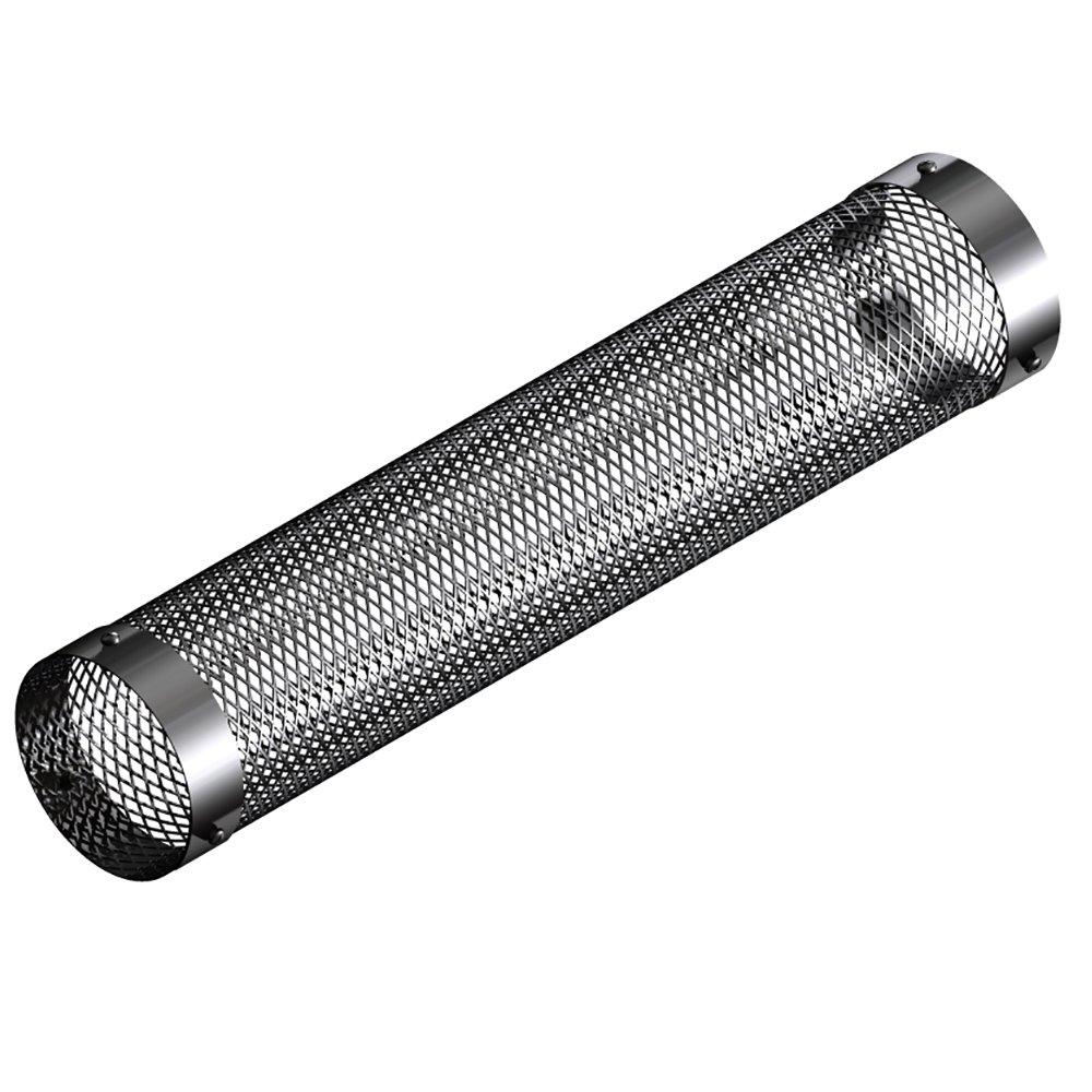 mistermoby - Red protección de acero inoxidable x Tubo de 80 mm Estufa Pellets, LG. 50 cm, el top: Amazon.es: Hogar