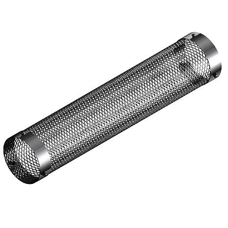 mistermoby – Red protección de acero inoxidable x Tubo de 80 mm Estufa Pellets, LG