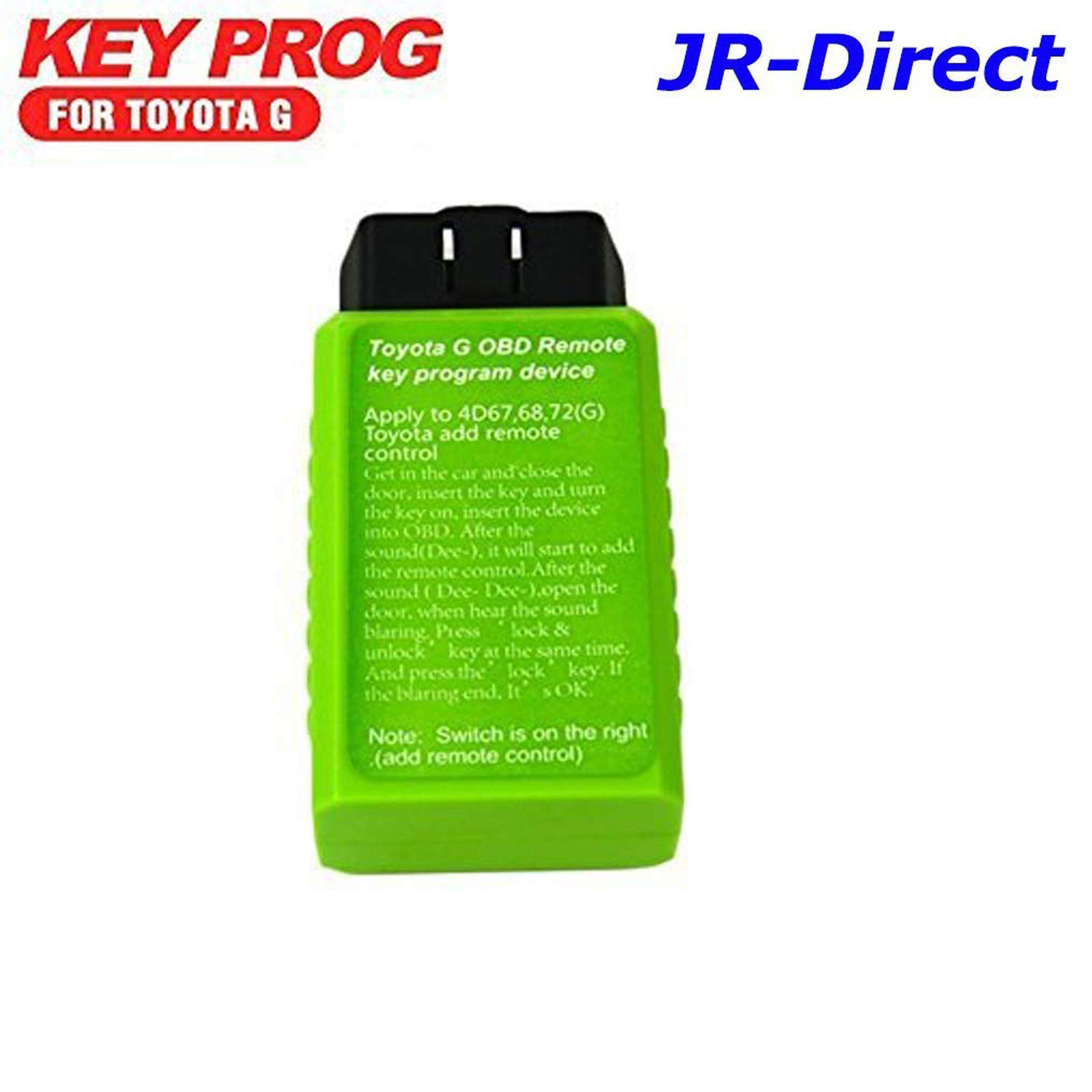 JR Tool for Toyota G and H Chip Key Programmer Vehicle OBD Remote Key  Programmer for Toyota G Device Smart Keymaker Toyota G and Toyota H Key