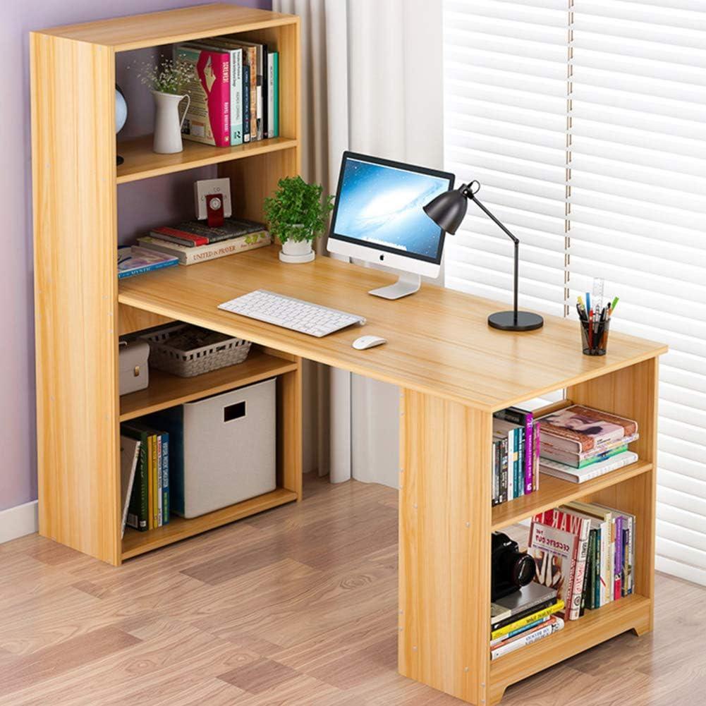 Mesas Para Ordenador Con Estantes De Almacenamiento,madera ...