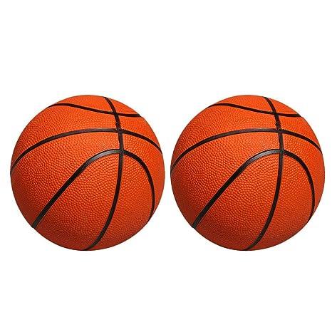 BESPORTBLE Baloncesto Inflable Mini Balones de Goma de 2 Piezas ...