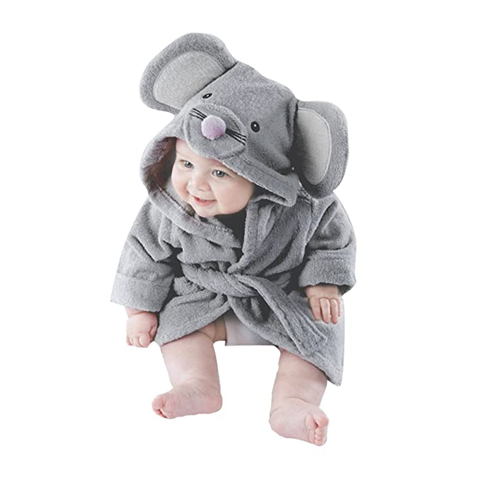 Tkria - Bata - para bebé niño Grau 1 110 cm (4-5 Años