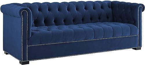 Best living room sofa: Modway Heritage Tufted Performance Velvet Upholstered Chesterfield Sofa