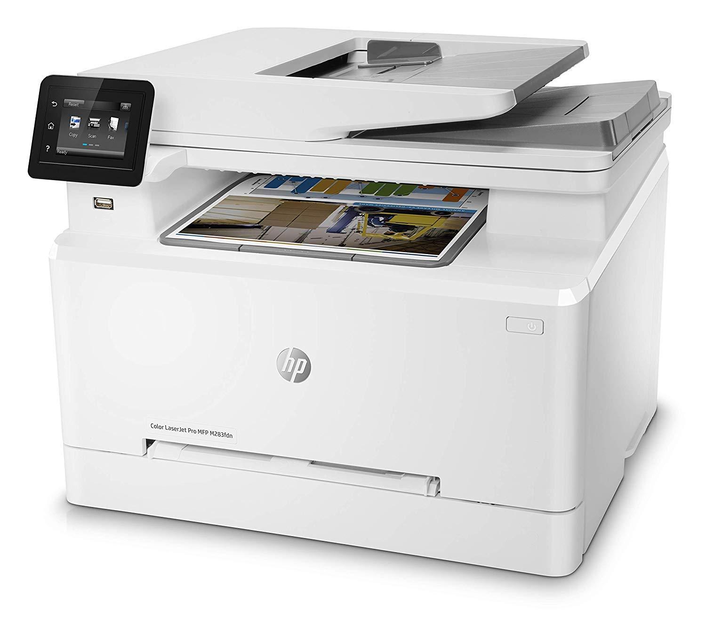 HP Color Laserjet Pro MFP M283fdn - Impresora láser (8.5 x 14 ...