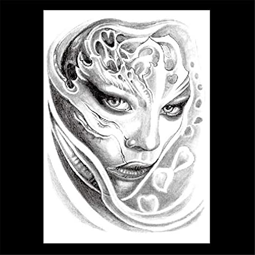 zgmtj Etiqueta engomada del Tatuaje del Modelo del Animal de la ...