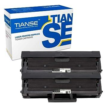 TIANSE Cartuchos De Tóner Compatible para Samsung MLTD111S ...