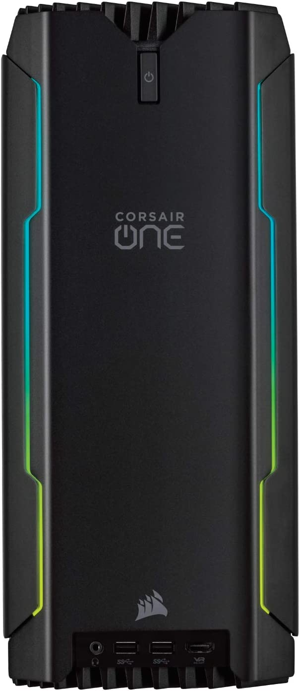 Corsair One i145 Compact Gaming PC, i7-9700K, Liquid-Cooled RTX 2080, 960GB M.2, 2TB HDD, 32GB