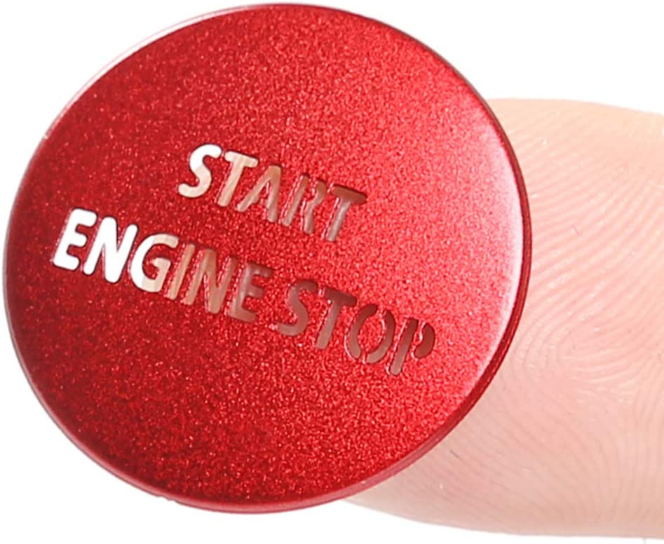Engine Start Stop Push Button Switch Sticker Cover For Land Rover ...