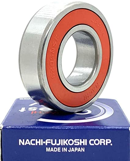 2 6205 2NSE C3 Nachi Bearing JAPAN 25X52X15mm 2RS RS 2NSE9 DOUBLE SEALED