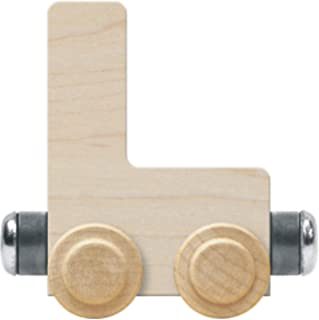 product image for NameTrain Unfinished Letter Car L - Made in USA